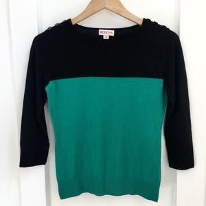 SALE $5! Merona L/S Colorblock Sweater